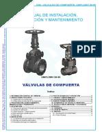 Valvulas de Compuerta-90 99-Uniflow-manual de Instalacion-sp-iom20 05
