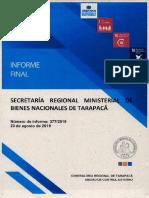 Informe sobre ocupaciones ilegales en Tarapacá