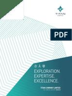 Titan 35th Annual Report 2018-19