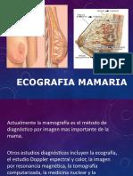 Ecografia Mamaria 2017