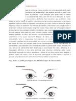 PERFIL PSICOLÓGICO DAS SOBRANCELHAS