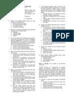 Long Quiz No 2_Financial Statements Analysis