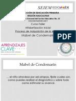 2. Proceso de Adquisición de La Lectura Mabel de Condemarín Revisado