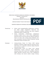 PMK No 14 Th 2019 Ttg Pelaksanaan Teknis Surveilans Gizi