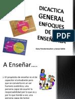 pdf didáctica enfoque terapeuta
