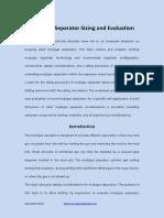 Mudgas Separator Sizingand Evaluation 170704102608