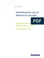 Modelling Cost Medicinal Cannabis Dae 1609
