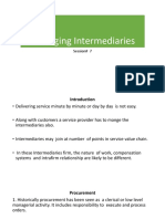 Managing Intermediaries