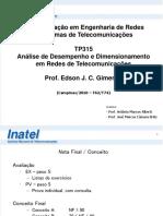 TP315 - P1 - Introdução e Teoria de Filas