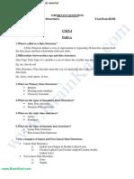 320 - CS8391 Data Structures - Important Questions