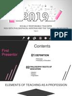 2019 Education Plan PowerPoint Templates