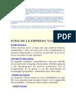 El Grupo Gloria Es Un Conglomerado Industrial de Capitales Peruanos Con Negocios Presentes en Perú