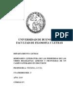 Seminario Lit. Brasileña marginal