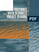 Water Resources Project Planning