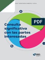 Consulta Significativa Con Las Partes Interesadas (Folleto)