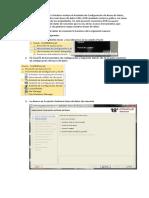 Creación de base de datos y conexión con sql developer Oracle 18c