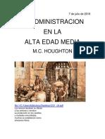 La Administracion en La Alta Edad Media m.c. Houghton