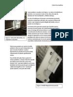 Analisis de inyeccion de válvula y sus moldes.