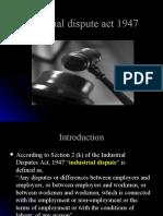 Industrial Dispute Act, 1947