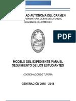 Modelo de Expediente 2016