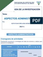 Aspectos Administrativos 2017 1