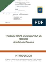 ANÁLISIS DE CANALES