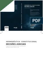 13 - Hermenêutica Constitucional . Decisões Judiciais - Mauro Augusto Ponce de Leão Braga (2016).pdf