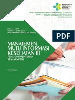 Manajemen Mutu Informasi Kesehatan III SC