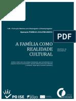 A.E.C. - A Família Como Realidade Cultural UFCD 425