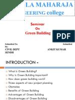 Civil Green Building Ppt 12.9 a. k