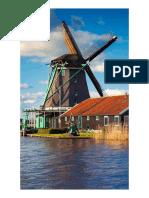 Wallpaper windmill