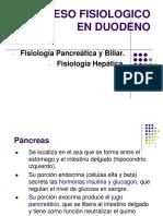 Fisiología Pancreática y Hepática USMP