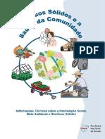 FUNASA - Resíduos Sólidos e a Saúde Da Comunidade