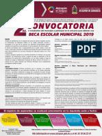 Becas Atizapán de Zaragoza 2019 Segunda convocatoria