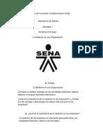 Ensayo 1 Indicadores Sena