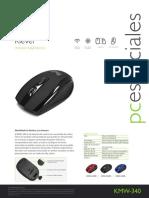 Manual mouse inalambrico