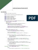 Desarrollo de Examen Parcial de LP4