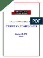 Tarifario V116 Del 07082019