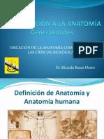Introducción a La Anatomía - 1