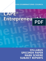 entrepreneurship syllabus 2020