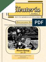 «Eleutería» N°9 (2018)