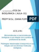 Aula 01- Bioquímica