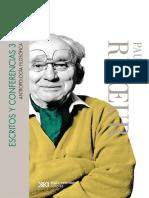 Escritos y conferencias 3_ Antropología filosófica - Paul Ricoeur
