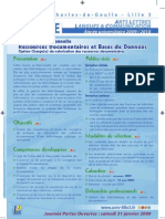 Licence pro ressources documentaires