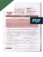 Iom Class 12 2008 Set1