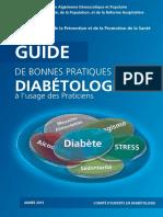 DZA_D1_guide Diabète de Bonnes Pratique en Diabètologie 21x15 Cm 151020