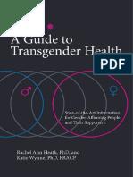 Guía para la Salud Transgénero
