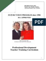 Suzuki Voice Professional Development