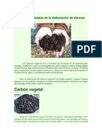 Materiales Utilizados en La Elaboración de Abonos Orgánicos