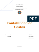 Trabajo de Contabilidad de Costos -